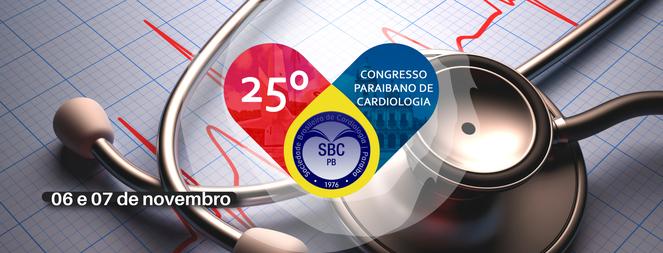 25° Congresso Paraibano de Cardiologia - 1ª Edição