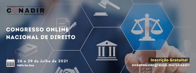 Congresso Online Nacional de Direito - 1ª Edição