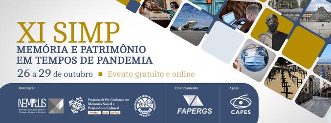 XI Seminário Internacional de Memória e Patrimônio - 1ª Edição