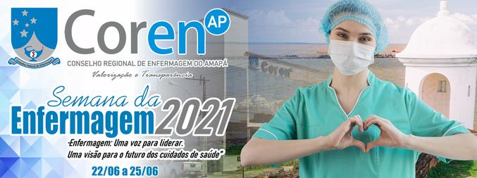 Semana da Enfermagem 2021 - Coren-AP - 1ª Edição