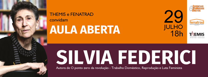 Aula aberta com Silvia Federici - 1ª Edição