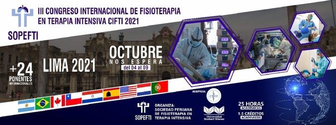 III CONGRESO INTERNACIONAL DE FISIOTERAPIA EN TERAPIA INTENSIVA - 1ª Edição