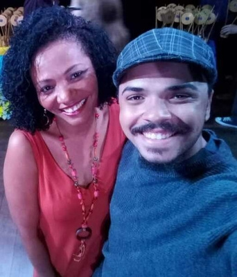 Helyane Silsan e Rodrigo Santos