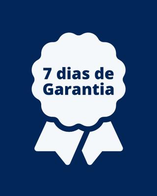 7 dias de Garantia Incondicional