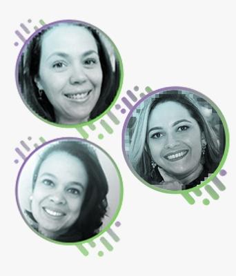 Elaine Cristina Ferreira Ianni , Gisela Assis e Rhaylla Maria Pio Leal Jaques