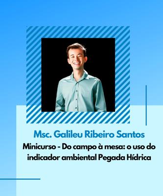 Msc. Galileu Ribeiro Santos