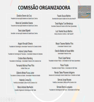 COMISSÂO ORGANIZADORA
