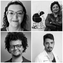 Adriana Cabanelas, Ana de Medeiros Arnt, Anderson Brito & Hugo Fernandes-Ferreira