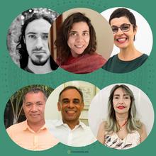 Caio Portella, Adriana Nunes Wolffenbüttel, Nina Claudia Barboza da Silva, José Carlos Tavares Carvalho, Ariovaldo Ribeiro Filho, Silvana