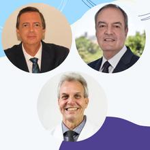 Paulo Gallo (RJ), Carlos Lino (BA) e Carlos Petta (SP)