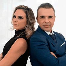 Dra. Sabrina Cacciatore e Dr. José Tosta