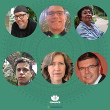 Madel Luz, Nelson Filice de Barros, Marcos Freire, Derick Carniello Rezende, Luiz Darcy Gonçalves Siqueira e Iracema Benevides