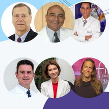 Joaquim Lopes (BA), Gérsia Viana (BA), Rui Ferriani (SP), Vinicius Medina Lopes (DF), Eduardo Motta (SP) e Nilka Donadio (SP)