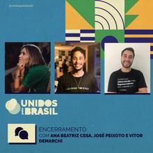 Ana Beatriz Cesa, José Peixoto e Vitor Demarchi