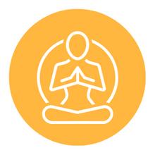 """Sala de Cuidado 4: Palestra """"Técnicas de respiração e meditação"""""""