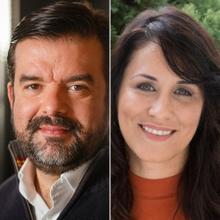Marcelo Guedes Nunes e Vanessa Louzada