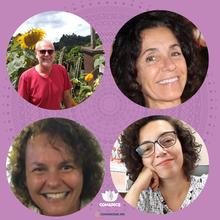 Gerson Jung, Claudia Ugarte Novelo, Maria Teresa Bruni Daldon e Frances Valéria Costa e Silva