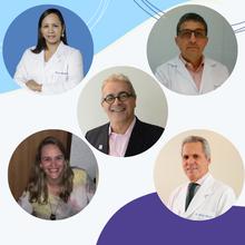 Clodoaldo Cadete (BA), Janaina Mendes (BA), Alberto Zaconeta (DF), Ana Cecília Travassos (BA) e Adelino Amaral (DF)