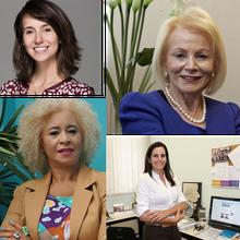 Chair: Profa.  Marina Gallottini | Profa. Angelita Gama |  Profa. Camila Achutti | Profa. Sonia Guimarães