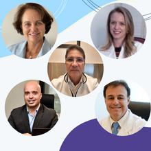 Pedro Paulo Bastos Filho (BA), Consuelo Calizzo (BA), Natalia Zavattiero (DF), Agnaldo Lopes (MG) e Artur Dzik (SP)