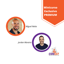 Miguel Netto e Jordan Moreira