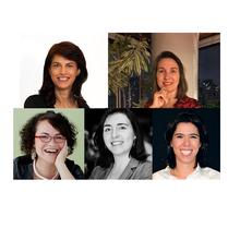 Chair: Profa. Liliam Carrete | Itali Collini | Maria Alice Frontini | Marcia Netto| Laura Constantini