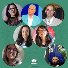 Milene Zanoni da Silva, Fernando Bignardi, Francis Mourão, Marina Freire, Vera Dantas, Vanderleia Pulga e Ubiraci Pataxó