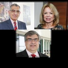 Prof. Vahan | Prof. Carlotti | Profa. Maria Arminda | Secretária Patrícia Ellen