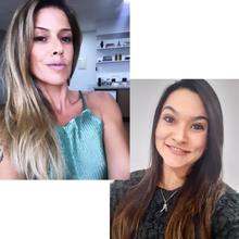 Karyna Pugliese e Valeska Beatrice Ferreira