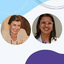 Debatedoras: Claudia Smith (BA) e Luciana Vieira Lopes (BA