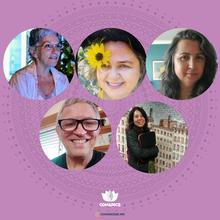 Ana Luisa Menezes, Ana Maria de Abreu Chagas, Carla H. Coelho, Rudimar de Carvalho Merlo e Zulmira Bonfim
