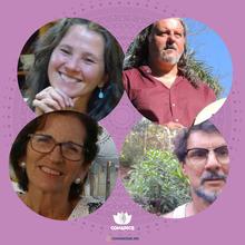 Susana Pasinatto, Carlos Manuel Dias, Carlos Rogerio Silveira e Marina Borges Silveira.