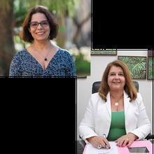 Chair: Profa. Dra. Maria Helena P. Marziale - Diretora da EERP | Palestrante: Profa. Dra. Denise de Carvalho - Reitora da UFRJ