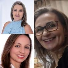 Gloriana Frizon, Ediane Bergamin, Edlamar Kátia Adamy