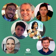 Daniel Amado, Ricardo Ghelman, Islândia Carvalho, Fabiana Andrade, Carla Holandino, Claudia Zanini e Leonardo Mozzaquatro Schneider
