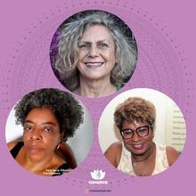 Nanci Ferreira, Vera Lucia Ribeiro (Valu) e Lilian  Rose Marques da Rocha