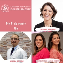 Mesa Redonda (Lydiane Bragunci e Dr. Andrea Bottoni | Mediação Simone Brasil e Fabiane Rezende)