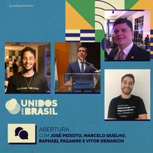 José Peixoto, Marcelo Quelho, Raphael Paganini e Vitor Demarchi