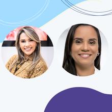 Debatedoras: Isa Rocha (BA) e Zuleica Guimarães (BA)