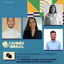 Agnusdei Tavares, Juliana Queiroz, Gustavo Buratto e Victória Zaboti
