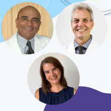 Joaquim Lopes (BA), Paulo Gallo (RJ), Márcia S. Cunha Machado (BA)