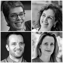 Claudia Izique, Elisa Andries, Herton Escobar & Vivian Retz