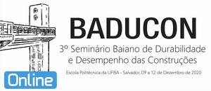 3º Seminário Baiano de Durabilidade e Desempenho das Construções.